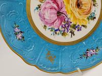 Vintage German Porcelain Plates / Chargers Bavarian /Set of Three (17 of 32)