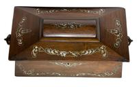 Beautiful Early 19th Century Mother of Pearl Tea Caddy (4 of 8)