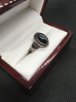 Georg Jensen Sterling Silver Ring with Hematite (5 of 5)