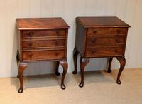 Pair of Mahogany Bedside Cabinets (2 of 10)
