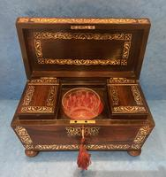 Regency Rosewood Twin Canister Tea Caddy (12 of 23)