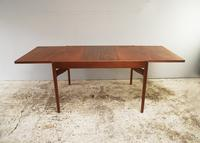 1960's Danish mid century dining table and 6 chairs (2 of 9)