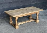 French Bleached Oak Coffee Table (4 of 11)