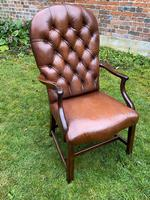 Buttoned Leather Armchair (7 of 8)