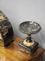 Art Deco Marble Clock Garniture (11 of 13)