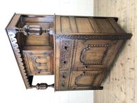Antique English Oak Cupboard (m-2183) (9 of 10)
