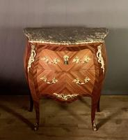 Small French Louis XVI Style Bombe Commode (12 of 12)