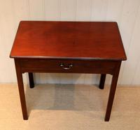 Georgian Mahogany Side Table c.1800 (5 of 9)