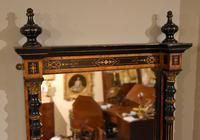 Mid 19th Century Pier Mirror Ebonized Gilded (3 of 4)