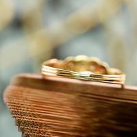 The Antique Heart Set Rose Diamond & Amethyst Ring (5 of 6)