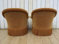 Pair Of French Crapaud Tub Armchairs (6 of 8)