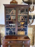 Victorian Mahogany Secrétaire Bookcase (3 of 8)