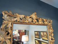Fine Early Victorian Antique Timber Gilt Mirror (7 of 7)