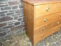 Arts & Crafts Oak Chest of Drawers (5 of 14)
