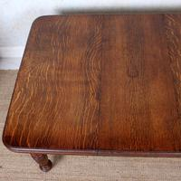 Oak Dining Table 6 Seater Victorian Wild Golden Oak 19th Century Solid (14 of 16)