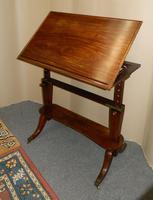 Regency Mahogany Architect's Table (2 of 7)