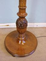 Antique Walnut Standard Lamp (5 of 6)