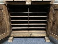 French Gothic Oak Rustic Cupboard or Wardrobe (3 of 22)