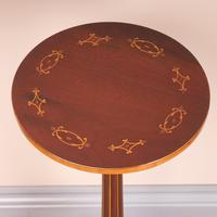 Good Quality Marquetry Mahogany Wine Table (4 of 8)