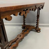 19th Century English Rosewood Library Table (3 of 6)