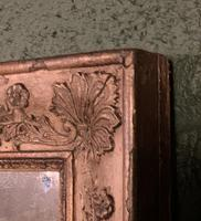 Empire Period Distressed Painted Foxed Plate Mirror (4 of 10)