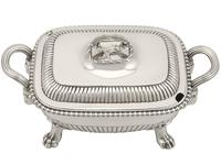 Sterling Silver Tureens - Antique George III 1810 (5 of 15)