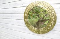 Arts & Crafts Movement Scottish / Glasgow School Circular Wall Mirror c.1900 (22 of 24)