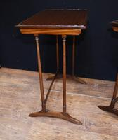 Regency Nest of Tables Antique Circa 1920 (6 of 8)