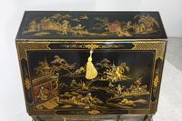 Outstanding Chinoiserie / Laquered Bureau (6 of 15)