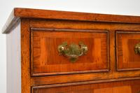 Georgian Style Yew Wood Chest of Drawers c.1940 (5 of 9)