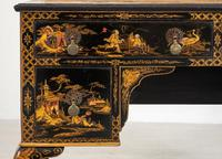 Queen Anne Style Chinoiserie Dressing Table & Chair (17 of 22)