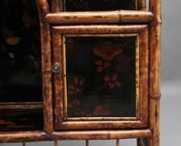 Impressive 19th Century Bamboo Cabinet (9 of 25)