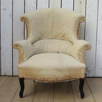 Antique Napoleon III Armchair (2 of 9)