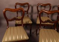 Set of 6 Early Victorian Mahogany Dining Chairs Possibly Gillows (3 of 12)