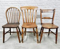 6 Assorted Windsor Kitchen Chairs (3 of 6)