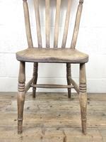 Four 19th Century Farmhouse Kitchen Chairs (10 of 12)