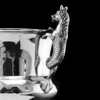 Georgian Solid Silver Cup / Goblet / Trophy with Napoleonic Military interest - Solomon Hougham 1812 (24 of 24)
