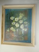 Oil Painting Vase of Flowers (2 of 7)
