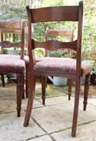 Good Set of Six Late Georgian Mahogany Dining Chairs (3 of 10)