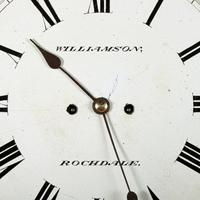 Rosewood Double Fusee Wall Clock (3 of 6)