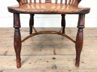 Antique Windsor Armchair in Elm & Ash (5 of 12)