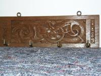 Iona Celtic Inspired Carved Panel (10 of 10)