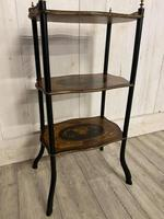 French Rosewood & Marquetry Etagere (2 of 7)