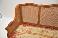 Antique French Carved Walnut Bergere Sofa (14 of 15)