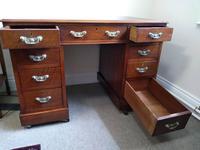 Walnut Edwardian Desk (2 of 3)
