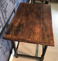 Oak Hall Table (9 of 9)