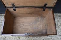 Lovely 19th Century Elm Box / Chest / Blanket Box c.1830 (7 of 13)