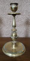 Pair of Brass Arts and Crafts Candlesticks (6 of 12)