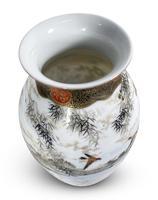 Meiji Period Kutani Vase Decorated with Water Birds (4 of 5)