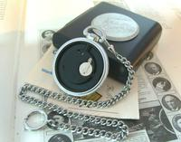 Vintage Pocket Watch 1970s Railroad 9ct White Gold Plated Swiss & West Germany Nos (12 of 12)